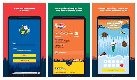 New York Lottery mobile app