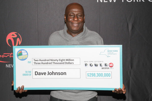 David Johnson Wins 298 Million Us Powerball Jackpot