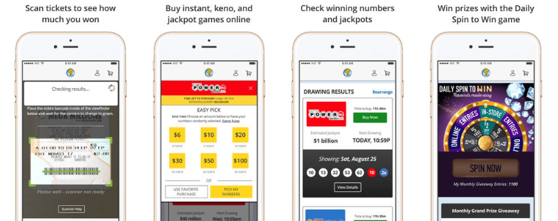 Michigan Lottery mobile app