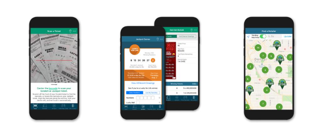 Colorado Lottery mobile app