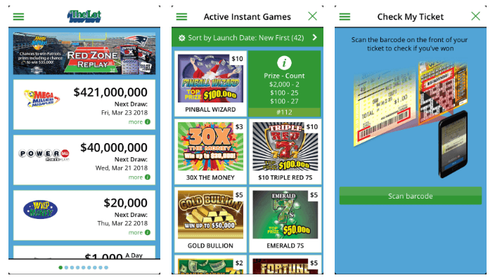 Rhode Island Lottery mobile iOS Android app