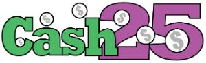West Virginia Lottery Cash 25 logo