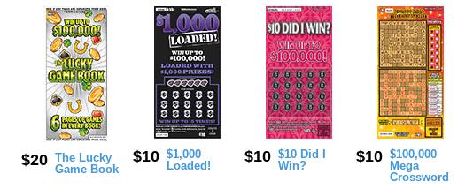 Iowa Lottery scratch games
