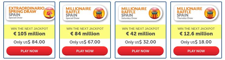 BuyLottoOnline Review Millionaire Raffles