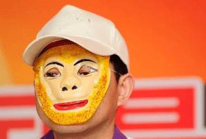 China costumed lottery winner monkey king