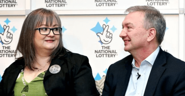 EuroMillions winner Frances and Patrick Connolly
