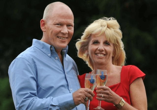 EuroMillions winner Dave and Angela Dawes