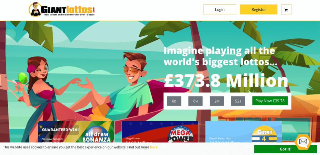 Giant Lottos review website