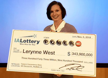 Lerynne West Powerball winner