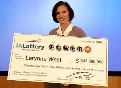 Lerynne West Powerball winner