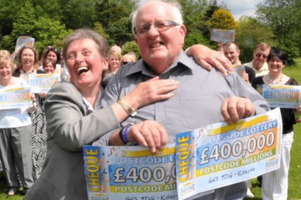 Postcode Lottery winner Hugh Lundy