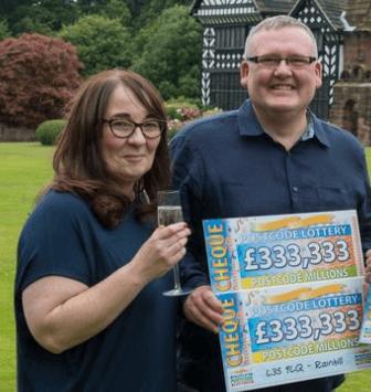 Postcode Lottery winner John Washington