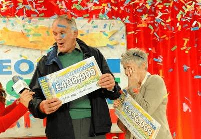 Postcode Lottery winner Stuart Hodgson
