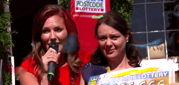 Postcode Lottery winner Tracie Barry