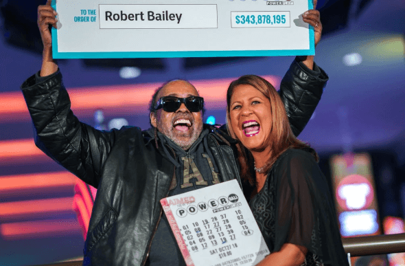 Robert Bailey Powerball winner