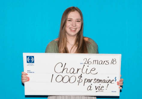 Charlie Lagarde youngest lottery winner from Canada