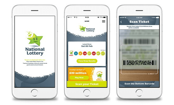 Irish Lotto mobile Android iOS app