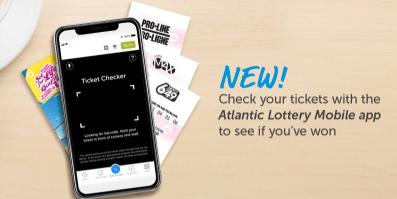 Atlantic Lottery mobile app