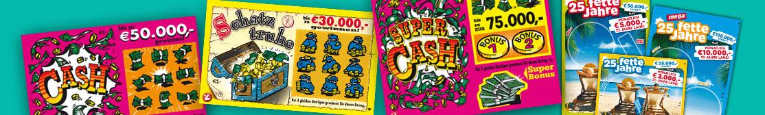 Austrian Lotteries Rubellos (Scratch-Offs)