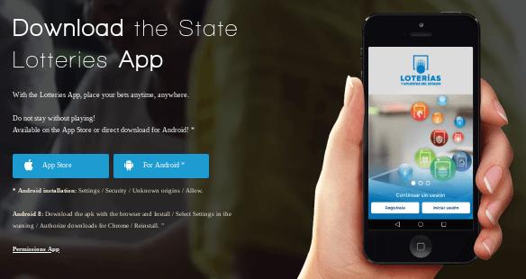 Loterias y Apuestas del Estado mobile app